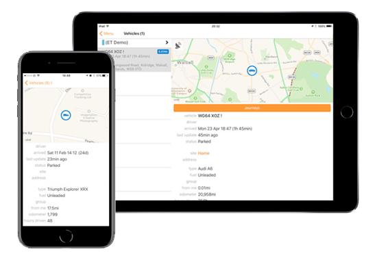 ict tracking app